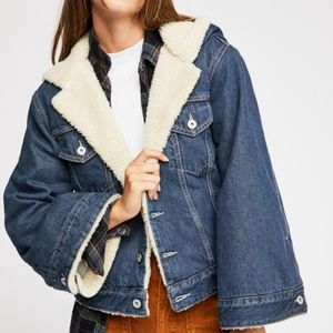 Rare Levi's Made & Crafted Sherpa Trucker Jacket